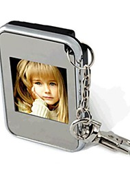 mini cadre photo numérique 1,5 pouces avec porte-clés
