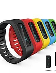 oled bluetooth v4.0 slimme polsbandje armband calorieën / alarm / sport / slaap volgen