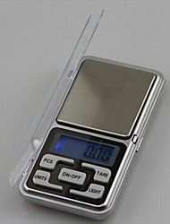 Mini Portable Electronic Scales 500g/0.1g,Plastic 12X6.2X2CM