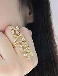 shixin® anneau de déclaration de schéma classique en creux de fleurs (1 pc)