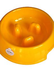 (100-150 g) de résine de l'environnement le bol de starter pour animaux chiens (couleurs assorties, tailles)