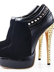 zapatos de las mujeres bc punta redonda stiletto talón acuden bombas con zapatos de cremallera
