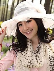 uv de la mujer sol gran sombrero de ala ancha