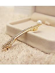 estilo coreano nueva perla con pinzas para el cabello de cristal dlivery azar