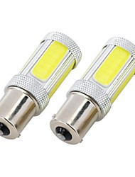 Marsing High Power 25W 1156 5-COB 2300LM 6500K Cool White LED Car Brake/Reverse Light - (12V / 2 PCS)