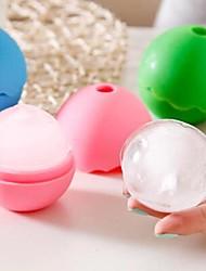 boîte balle-forme de glace de silicone (couleur aléatoire)
