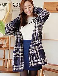 Women's Knit Pullover In long Cardigan Sweaters