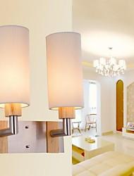 parede de carvalho luz, duas luzes, carvalho e vidro, 220 ~ 240V (jy8032)