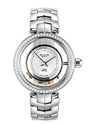 Chens®Women's W.007.01 Hollowed-out Flywheel Zirconia Watch