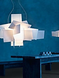 40W Pendant Light ,  Modern/Contemporary / Traditional/Classic / Retro Painting Feature for Candle Style ResinLiving Room / Bedroom /