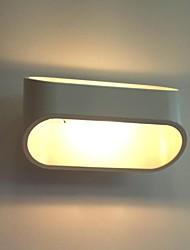moderne murale à LED, 1 lumière, peinture aluminium, 220-240v