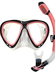 OceanPro adulto atlantis maschera secco snorkel set p1001 + p2001