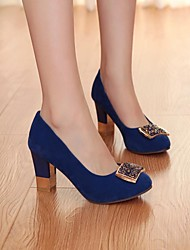 Women's Shoes Round Toe Low Heel Pumps Shoes More Colors available