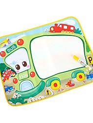 58 * 48 * 4cm Aquadoodle juguetes de la novedad de los niños con cuadros de bus