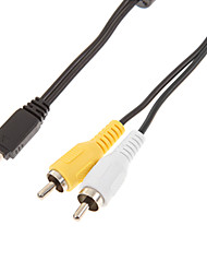AV Male to Mini USB 2.0 Male Cable for Casio Camera