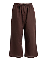 Women's Brown Drawstring Trouser