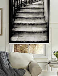 contemporain imressionistic rouleau ombre escaliers
