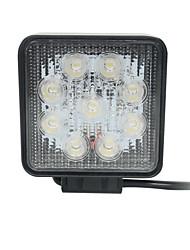 27w Прожектор Epistar привело свет бар на внедорожнике светодиодные Bar Square рабочей лампы