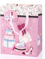 suporte padrão do cupcake bolsa de presente do favor para o aniversário