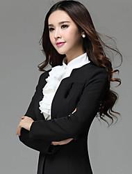 Women's Suits , Cotton/Polyester Casual Qiaojiaren