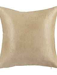 Modern Style Wood Grain Polyester Decorative Pillow Cover