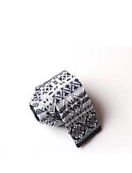 laço estreito de malha para homens sktejoan® (largura: 5cm)
