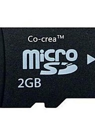 Co-crea TF High-speed Stability of Neutral Memory Cards (2GB)