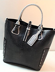ZCM Black Fashion Simple Single Shoulder Handbag _TL-9B0