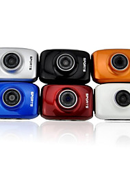 dv123 Outdoor-Sport wasserdichte HD 2.0 TFT 1.3MP CMOS-Kamera w / tf / Mini-USB-Set