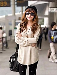 Women'S Loose Knit Shirt Cardigan Sweaters