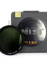nisi 67mm nd4-500 ultradünne Neutraldichtefilter einstellbarer Dimmer