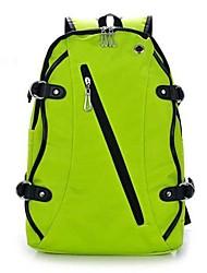 mochila de estudante de moda de lona unisex (cores sortidas)