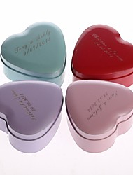 24 Piece/Set Favor Holder - Heart-shaped Metal Gift Boxes/Favor Tins and Pails/Favor Boxes Personalized