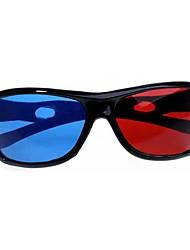 split-screen azul óculos 3d vermelhos para computador