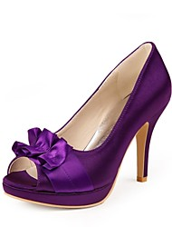 Feminino Wedding Shoes Saltos/Peep Toe/Plataforma Saltos Casamento