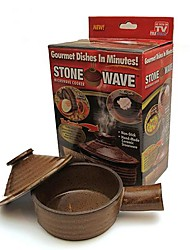 pierre ondulé micro-ondes four antiadhésive série ustensiles de cuisson