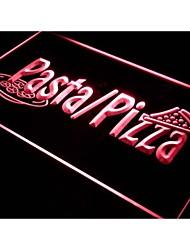 I136 pizzas boutique de pâtes signe café tranche bar néon de lumière