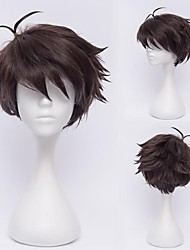 Haikyuu!Oikawa Tooru Dark Brown Cosplay  Wig