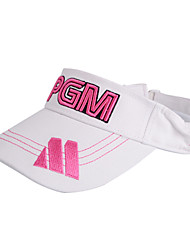 PGM White+Pink Sunproof Golf Hat With No Cover