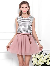 Women's Skirts Fashion Chiffon Fluffy Double Deck Highwaist Skirt(Assorted Colors)