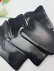Natural  Buffalo Horn Guasha Tools Traditional Body Massage Tool Gua sha Scrape Therapy Length 7-8cm Width 3-4cm
