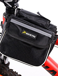 Bike BagBike Frame Bag Waterproof / Wearable / Phone/Iphone Bicycle Bag 600D Polyester Cycle Bag Cycling/Bike 14*17.5*9