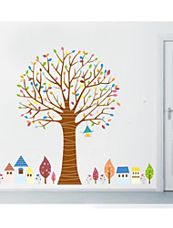 JiuBai™ Cartoon Tree Home Decoration Wall Sticker Wall Decal