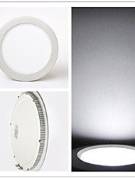 40 SMD 2835 700 LM Cool White Recessed Retrofit LED Ceiling Lights / LED Panel Lights AC 85-265 V