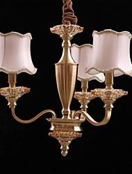 candelabros de hoteles lámpara con 3 luces