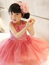 Girls Sequins Yarn Dress