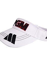 PGM White+Black Sunproof Golf Hat With No Cover