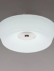 77W Modern/Contemporary LED Chrome Metal Flush Mount Living Room