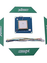 HJ Ublox GPS Module V2.0 Compass Module with Antenna 6PIN connecting Cable for APM 2.6 Flight Controller