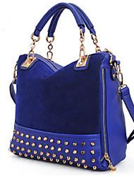 Mitesi Women'S Frosted Shoulder Bag Handbag Rivet
